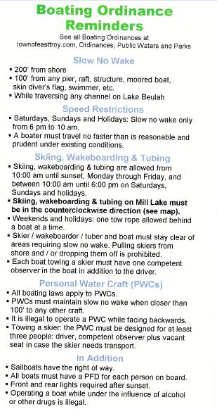 LB Boating Rules